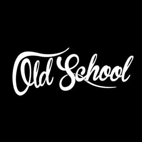 Old School Car Sticker Auto Euro Vinyl Oldstyle Vintage Vinyl Decals Waterpro X