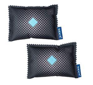 KFZ-Auto-Luft-Entfeuchter-2-Kissen-Beutel-Indikator-Verbrauchsanzeige-von-WENKO