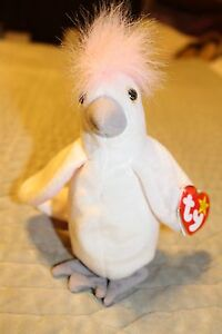6a55d13ebd4 Image is loading TY-BEANIE-BABY-KUKU-COCKATOO-1997-VINTAGE-RETIRED-