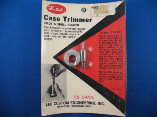 Choose Your Caliber Lee Case Trimmer Pilot /& Shell Holder