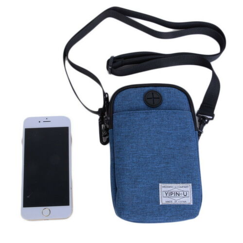 Unisex Waterproof Sport Climbing Pack Utility Phone Pouch Belt Shoulder Bag DS