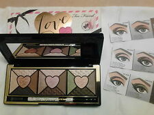 TOO FACED- LOVE PALETTE~ Passionately Pretty Eye Shadow Collection w/ EYELINER