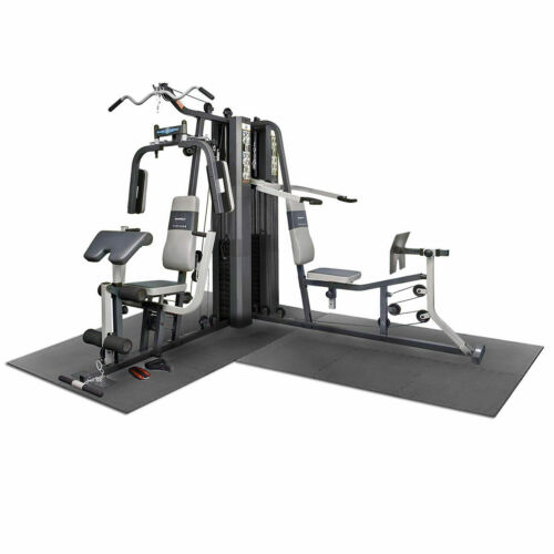 Marcy GS99 Dual Stack Home Multi Gym with Floor Matting