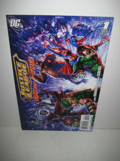 Justice League: Cry for Justice #1 (2009, DC) NM HTF 2nd Print Variant!