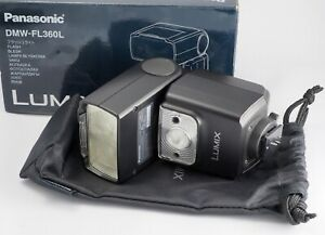 EXCELLENT-Panasonic-LUMIX-DMW-FL360L-External-Flash