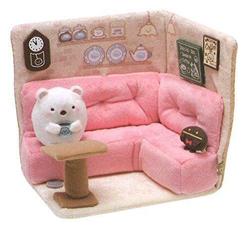 San-x Sumikkogurashi Cafe Suikko Cotema scene Plush Doll MR40901
