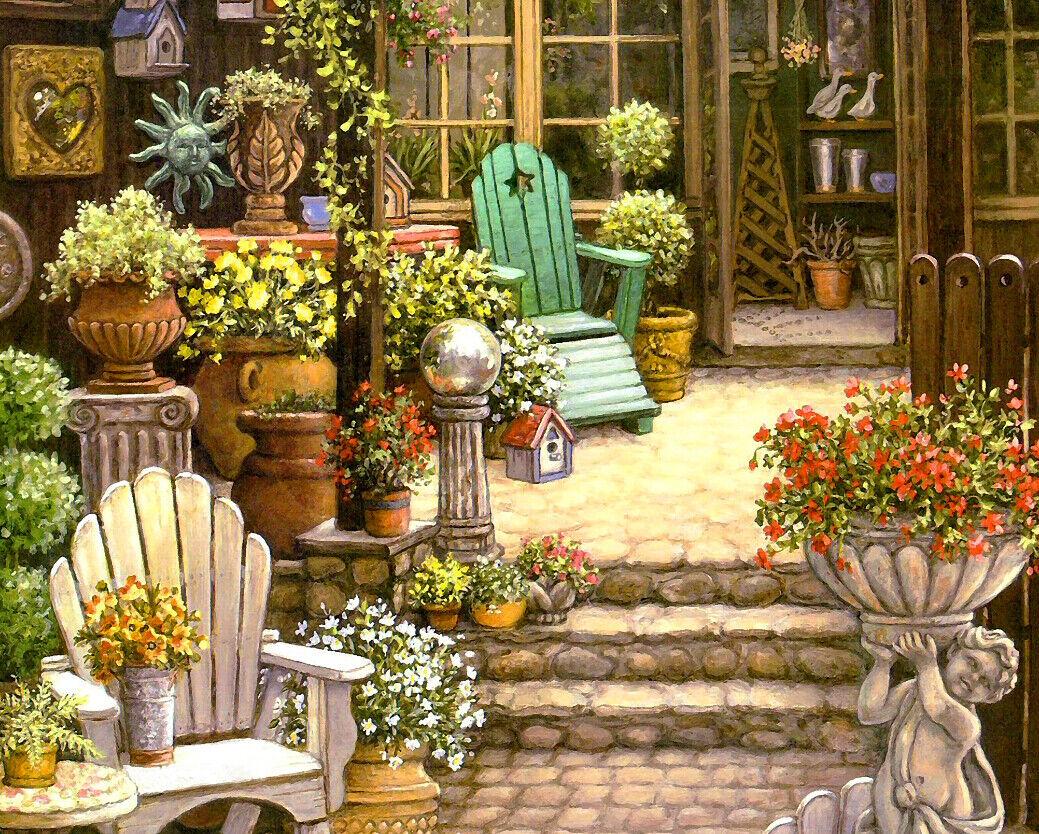 3D Flower Shop 4162 Wallpaper Murals Wall Print Wallpaper Mural AJ WALL UK Lemon