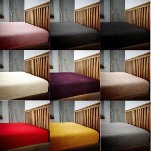 Oso-De-Peluche-Sabana-Bajera-solo-doble-King-Size-Bed-Cama-Polar-calido-acogedor-Nuevo