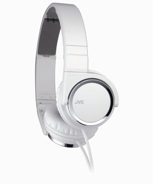 Victor JVC Japan Carbon Nanotube HD Sound Stereo Headphone HA-S400-W White