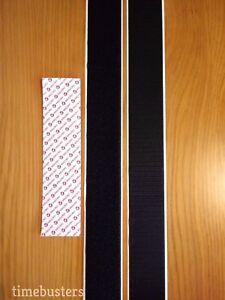 "One Metre x 50mm White Velcro Stick on 1m Hook /& 1m Loop 2/"""