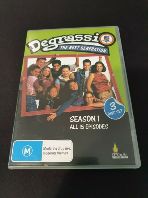 Degrassi - The Next Generation : Season 1 (DVD, 2010 3-Disc Set) FREE POST!!!