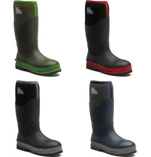 Dickies Landmaster Pro Safety Wellingtons Waterproof Steel Toe Cap Cap Toe Boots 5.5-12 9812fc