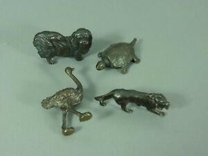 Metal-Animales-Di-Ue-1978-Set-Completo-Brunido