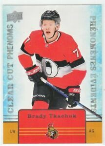 Brady-Tkachuk-2019-20-Upper-Deck-Tim-Hortons-CLEAR-CUT-PHENOMS