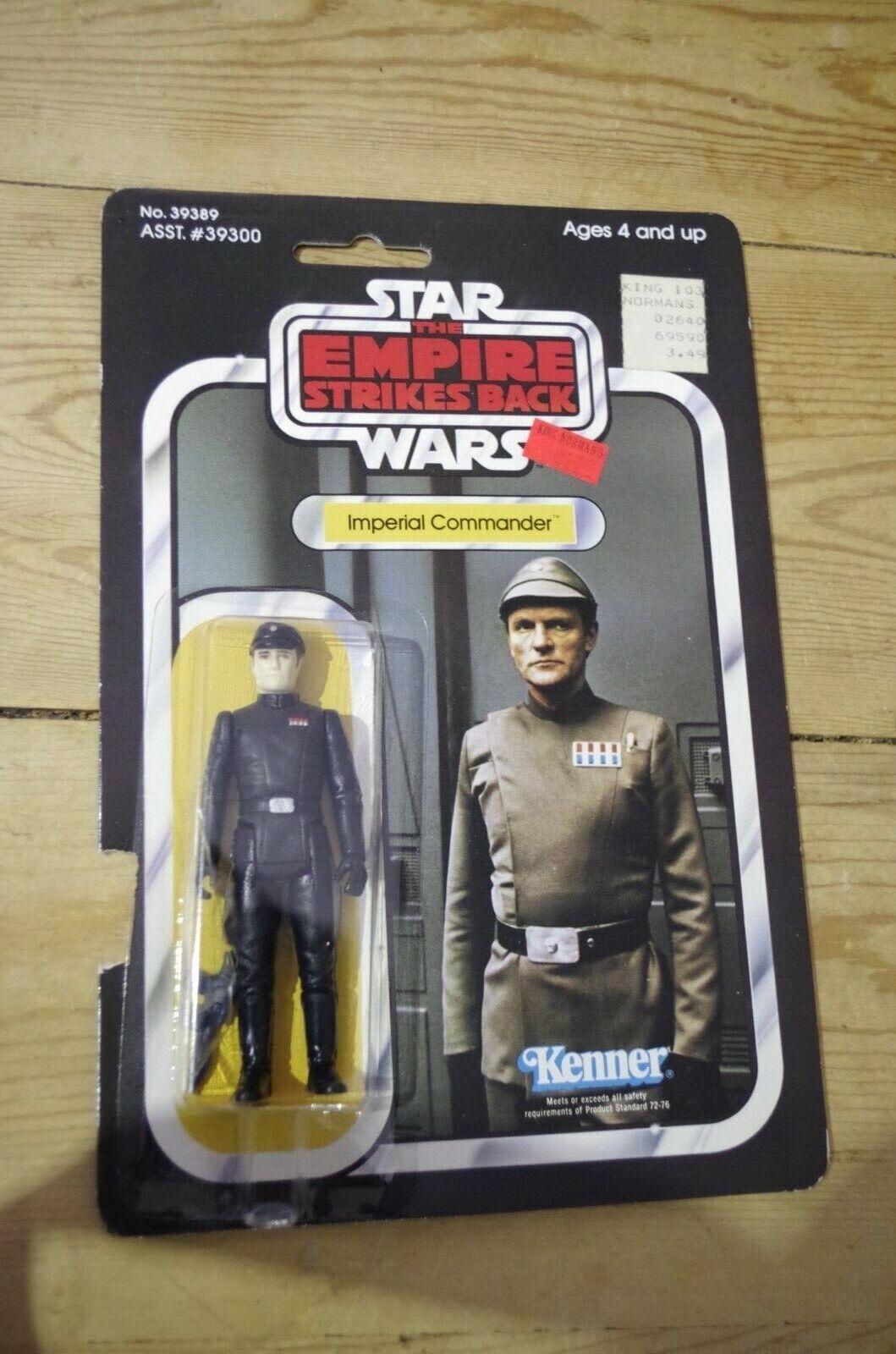 STAR WARS IMPERIAL COMMANDER ESB cardées Kenner