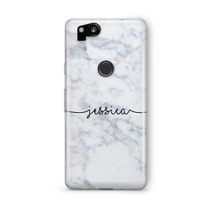 best service 32bc2 124db Details about Custom Personalised Marble Name Art Phone Case Google Pixel 2  2XL 3 3XL Cover.