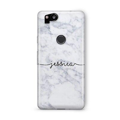 on sale 7ec0b b541a Custom Personalised Marble Name Art Phone Case Google Pixel 2 2XL 3 3XL  Cover. | eBay