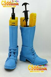 Details about JoJo's Bizarre Adventure Caesar Zeppeli PART II cosplay shoes  boots blue