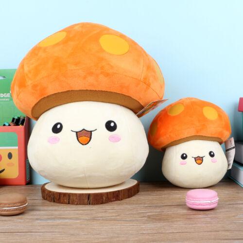 Cute Maplestory Orange Mushroom Horny Mushroom Plush Toys Dolls Pillow Ornament