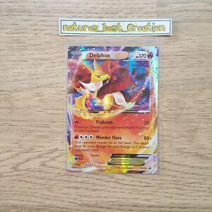 XY-19 Pokemon Delphox-EX XY19 Holofoil Promo Card FROM 2014 Tin
