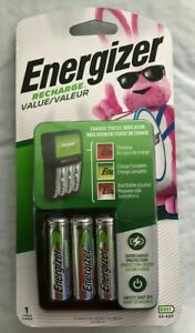 Energizer-CARICABATTERIE-valore-4-batterie-ricaricabili-NiMH-AA-incluse-chvcmwb-4-NUOVO