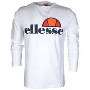 Ellesse-Grazie-Long-Sleeve-Optic-White-Cotton-T-Shirt