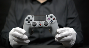 SONY Playstation 4 20th Anniversary DualShock Controller - 'The Masked Man'