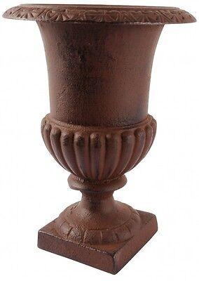 31 cm Pflanztopf Blumentopf Garten Landhaus Vase Kübel Guss Deko Pokal Amphore