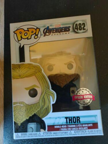 Endgame Thor con Mjölnir e Stormbreaker  #482 Funko POP Avengers Marvel
