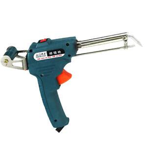 110V 60W Welding Electric Soldering Alloy Temperature Gun Solder Tool Kit