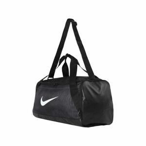 14e25512317bd Das Bild wird geladen NIKE-Sporttasche-BRASILIA-DUFFEL-schwarz -SMALL-Trainingstasche-Gym-