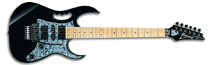 Ibanez jem505 BK steve vai sign. e-guitarra m. maleta