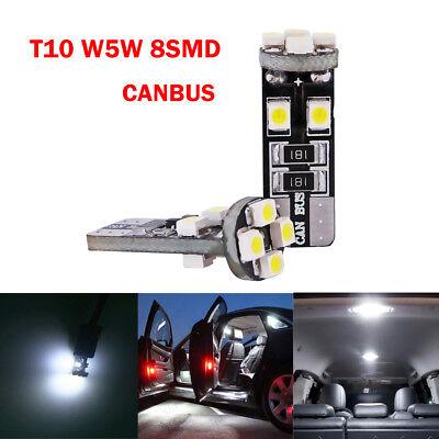 2x Peugeot Boxer 501 Bright Xenon White LED Number Plate Upgrade Light Bulbs