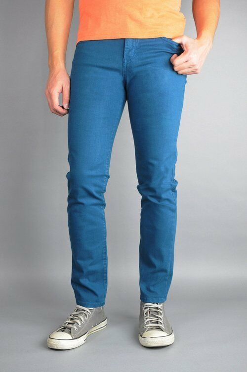 Neo bluee Skinny Jeans Dark Teal bluee 98% Cotton 2% Spandex Made In USA
