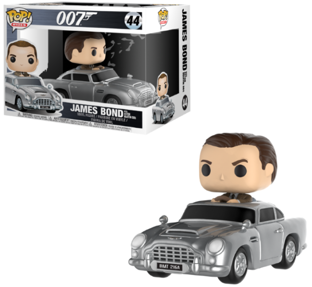 FIGURINE FUNKO POP James Bond Pop Rides Aston Martin /& Sean Connery