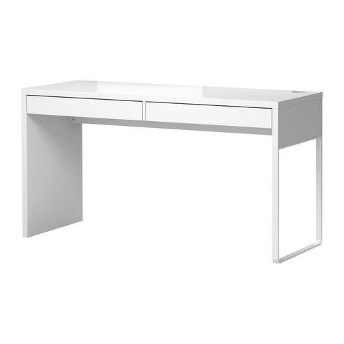 ikea table office.  ikea ikea micke desk with 2 drawers computer workstation table white modern on ikea office d