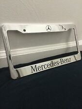 Custom Mercedes Benz   Personalized  License Plate Frame tag holder