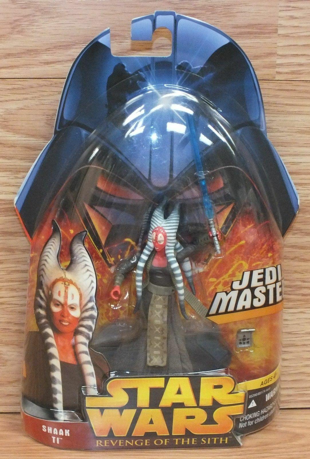 Hasbro Star Wars  Revenge of the Sith Shaak Ti Jedi Master Action Figure