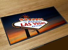 Welcome to Fabulous Las Vegas Nevada Bar runner beer mat