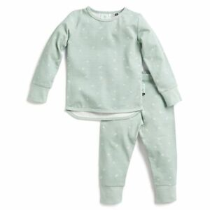 2pc ErgoPouch 0.2 TOG Pyjamas Long Sleeve Toddler 3y Sleepwear Pajama Set Sage