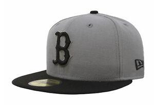 best loved 67518 8fb61 Image is loading New-Era-59Fifty-MLB-Baseball-Cap-Boston-Red-
