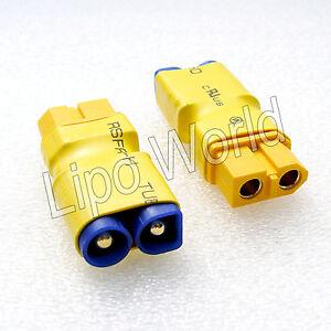 EC3-Stecker-auf-XT60-Buchse-Hochvoltstecker-Adapter-Lade-Kabel-LiPo-Akku