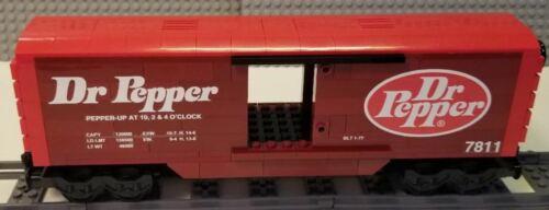 Lego Train Boxcar Dr Pepper PLEASE READ ITEM DESCRIPTION