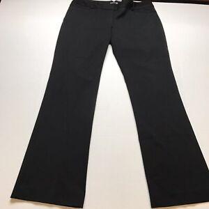 Express-Columnist-Black-Dress-Pants-Size-8-A153