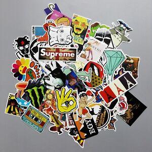100-PCs-Set-PVC-Auto-Aufkleber-Stickerbomb-Skateboard-Laptop-Gepaeck-Decal