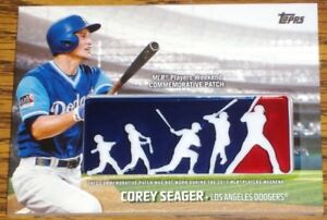 Image is loading COREY-SEAGER-2018-TOPPS-MLB-PLAYERS-WEEKEND-COMMEMORATIVE- f289d7286b1