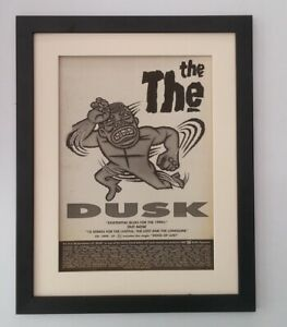 THE-THE-Dusk-1993-RARE-ORIGINAL-POSTER-AD-QUALITY-FRAMED-FAST-WORLD-SHIP