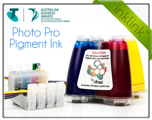 XP-314 /& XP-410 using 200 /& 200XL Carts RIHAC PIGMENT CISS for Epson XP-310
