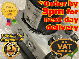 Vauxhall-Astra-Zafira-ABS-Pump-ECU-Unit-13246534-BE-BK-13-246-534-10-0207-0081-4