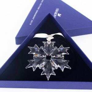 4281051f7077 Image is loading 2018-Swarovski-Crystal-Snowflake-ANNUAL-EDITION -LARGE-CHRISTMAS-